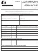 Form Rs 6047-n - World Trade Center Notice For Members And Retirees Of The New York State And Local Retirement System