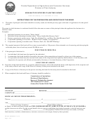 Fdacs-08439 - Non-native Species Planting Bond Form - Florida Department Of Agriculture And Consumer Services Division Of Plant Industry