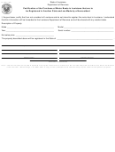 Form R-1368 - Certification Of The Purchase Of Motor Boats In Louisiana That Are To Be Registered In Another State And Are Made By A Nonresident - State Of Louisiana Department Of Revenue