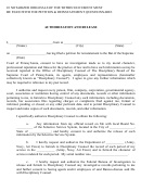 Authorization And Release Form - Bar Of The Supreme Court Of Pennsylvania