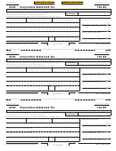 California Form 100-es - Corporation Estimated Tax - 2008