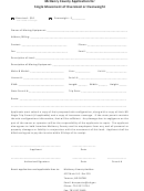 Single Movement Of Oversized Or Overweight Application Form - Mchenry County Auditor