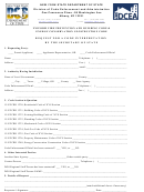 Request For A Code Interpretation By The Secretary Of State Form