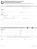 Fee-for-service Medicaid Prior Authorization Reconsideration Request Form - Texas Medicaid/chip Vendor Drug Program