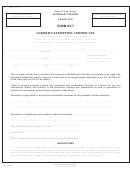 Form St-7 - Farmer's Exemption Certificate - 2017