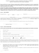 Medical Certification For Family Members Form - County Of Sonoma