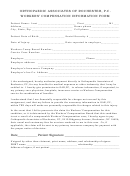 Workers' Compensation Information Form