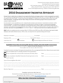 Engagement Incentive Affidavit Form