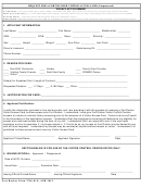 Form 2746-r-e - Request For A Fort Rucker Visitor Access Card (unsponsored)