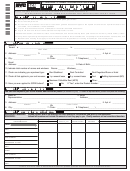 Scrie - Senior Citizen Rent Increase Exemption Initial Application Form - 2015