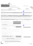 Form G-49 - General Excise/use Annual Return & Reconciliation ...