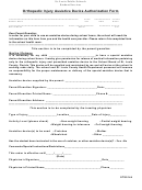 Form Sts0144 Orthopedic Injury Assistive Device Authorization Form