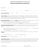 Dental / General Surgery Consent Form