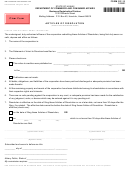 Form Dc-13 - Articles Of Dissolution - 2001