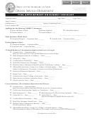 Tvdl Appointment Document Checklist Template - Illinois Secretary Of State