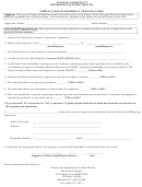 Verification Of Residency Training Form - State Of Connecticut Department Of Public Health