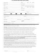 Cys Sports Registration Form