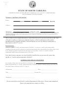 Form Av-9a - Certification Of Disability Under N.c.g.s. 105-277.1
