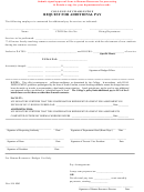 Request For Additional Pay Form - College Of Charleston