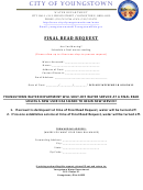 Final Read Request Form