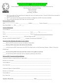 Request A Transcript Form - Dyersburg State Community College