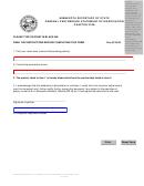 General Partnership Statement Of Dissociation Form - Minnesota Secretary Of State