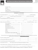 Form Dr-42a - Ownership Declaration And Sales And Use Tax Report On Aircraft