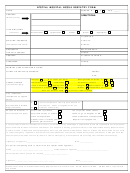 Special Needs Registry Form