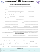 Youth Cheerleading Registration Form