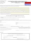 Statement Of Change Of Registered Office, Or Registered Agent, Or Both - South Dakota Secretary Of State