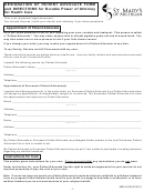 Designation Of Patient Advocate Form And Directions For Durable Power Of Attorney For Health Care Form