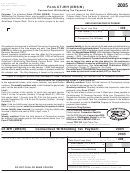 Form Ct-wh (drs/n) - Connecticut Withholding Tax Payment Form - 2005