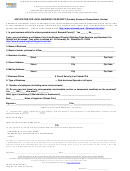 Form 401-279a - Application For Local Business Tax Receipt
