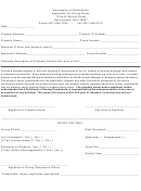 Zoning Permit Application Form