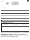 Form Bt-129 - Power Of Attorney - Oklahoma Tax Commission