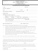 Clemson University Family Medical Leave Act (fmla) Request Form