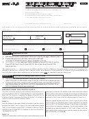 Form Nyc-9.6 - Claim For Credit Applied To General Corporation Taxes - 2015
