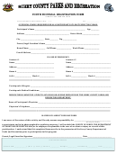 Youth Football Registration Form - County Of Surry, The Department Of Parks And Recreation