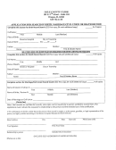 Application For Search Of Birth, Marriage/civil Union Or Death Record Form - Ogle County Clerk
