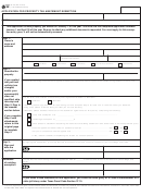 Texas Application For Exemption printable pdf download