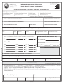 Cg-3 State Form 45382 - Single Event License Application - 2005