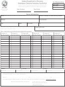 Hc-500 State Form 46332 - Hazardous Chemical Inventory Fee Return