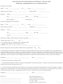 Application For Discharge Of Personal Liability For Personal Representative Of A Maine Estate - Maine Revenue Services
