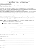 Hydrant Flow Test Permit Request Form
