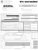 Form Boe-571-l - Business Property Statement - 2007