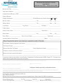 Business License Application Form