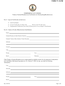 Form Tt-19-pm - Tobacco Product Manufacturer Certification For Participating Manufacturers
