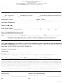 Rental Housing Inspecton Program Registration Form