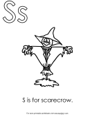 S Is For Scarecrow