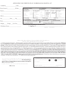 Application For Certificate Of Number Kansas Boating Act Form